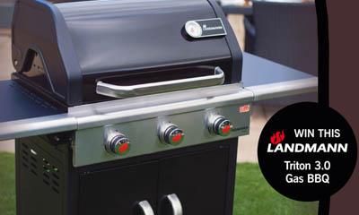 Win a Landmann Triton 3.0 Gas BBQ