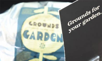 Free Coffee Grounds for Fertilizer at Starbucks Coffee