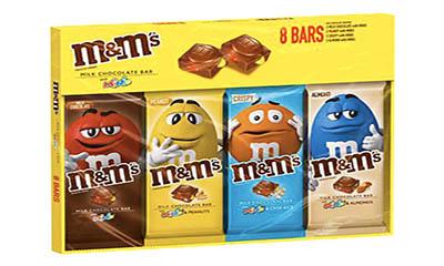 Free M&M Chocolate Bars