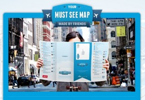 Free Personalised Travel Map