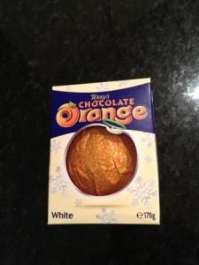 1p Terrys Chocolate Orange White 170gfree Samples 100
