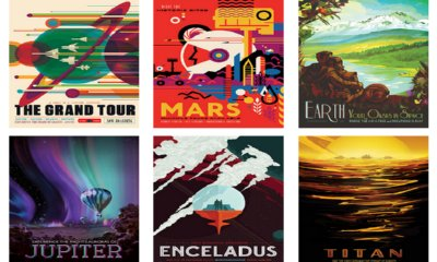 Free NASA Vintage-inspired Travel Posters