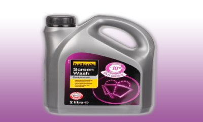 Free 2 Litre Screenwash