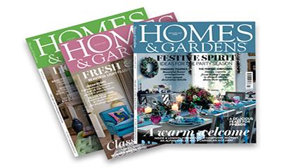 Free Copy of Home & Gardens Magazine