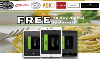 Free Tastecard – 50% Off Pizza Express, Zizzi and more