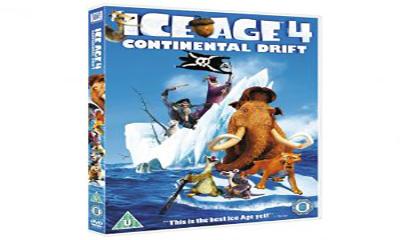 Free Ice Age 4 DVD – Worth £7.99