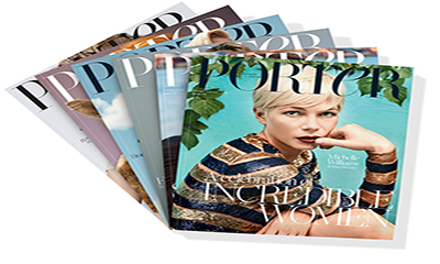 Free Copy of Porter Magazine