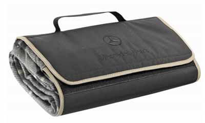 Free Mercedes-Benz Branded Fleece Blanket
