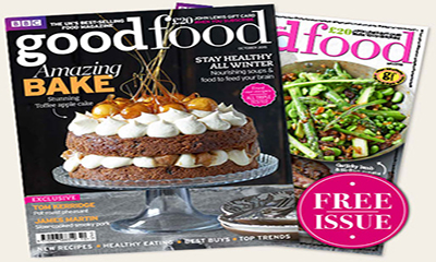 Free Copy of Good Food Magazine