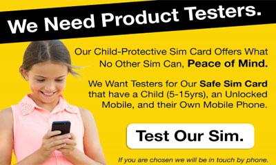 Free Child Protection SIM