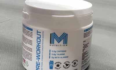 Free MM Nutrition Pre-Workout Drink