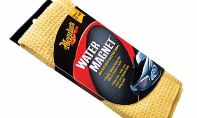 Free Meguiars Water Magnet Microfiber Drying Towel