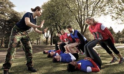 Free British Military Fitness Class