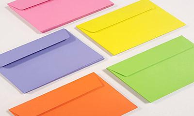 Free Envelopes Sample Pack