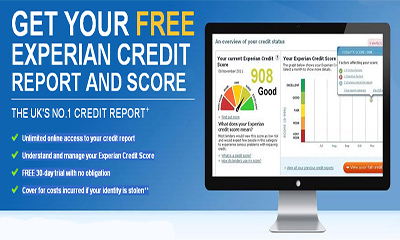Free Experian Credit Score