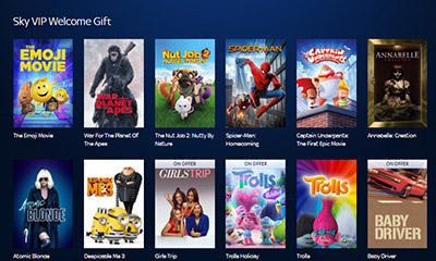 how to get free sky movies