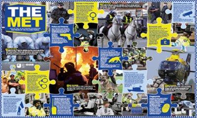 Free Metropolitan Police Facts Poster