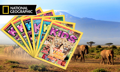 Free National Geographic Kids Magazine