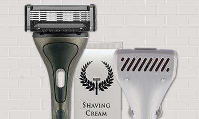Free Razor & Peppermint Shaving Cream