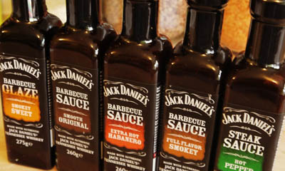Free Bottle of Jack Daniels Sauce