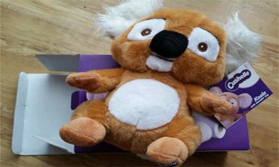 Free Koala Soft Toy