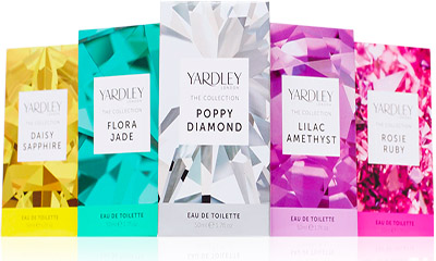 Free Samples of Yardley London The Collection
