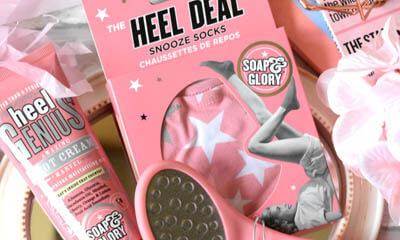 Free Soap & Glory Heel Genius Cream