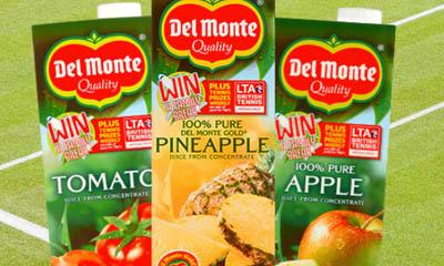 Free Carton of Del Monte Juice Drinks
