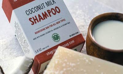 Free Coconut Milk Shampoo