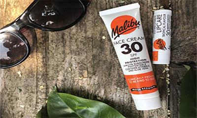 Free Malibu Sun Cream & Lip Balm