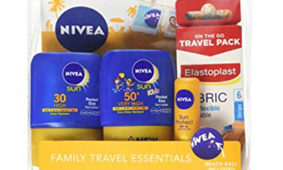 Free Nivea Family Travel Packs