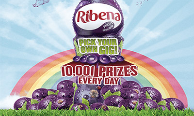 Free Ribena Bottle