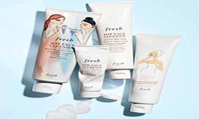 Free Soy Face Cleanser from Fresh