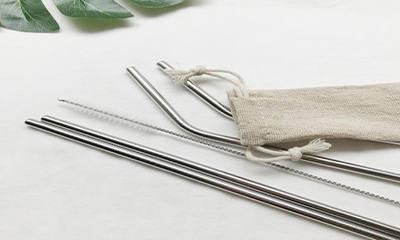 Free Stainless Steel Straw