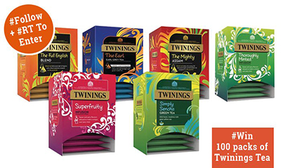 Free Twinings Tea Hamper