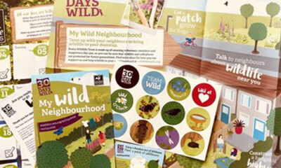 Free Wildlife Trust Stickers and Posters