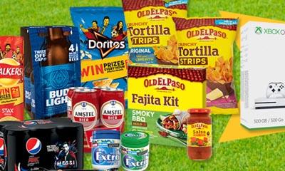 Free World Cup Food & Drinks Hamper