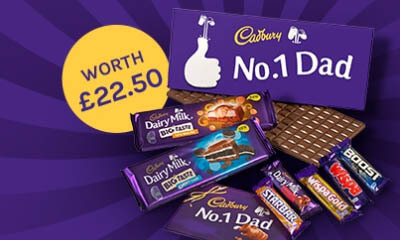 Win a Number 1 Dad Chocolate Hamper