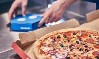 Free 7 inch Dominos Pizza