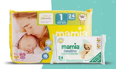 Free Aldi Mama Nappies & Wipes
