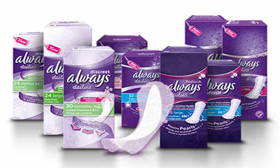 Free Always Pantyliners