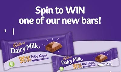 Free Cadbury's Chocolate Bar