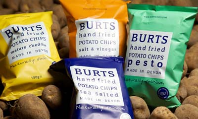 Free Cases of Burts Crisps