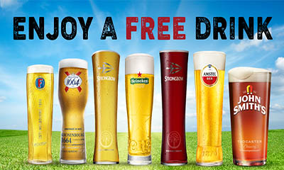 Free Drink For National Pub Fortnight