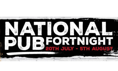 Free Drinks for National Pub Fortnight