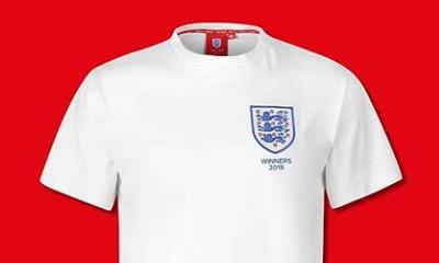 Free England Football Shirt