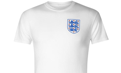 Free England Shirt from Sports Direct