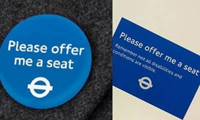 Free London Train Badge