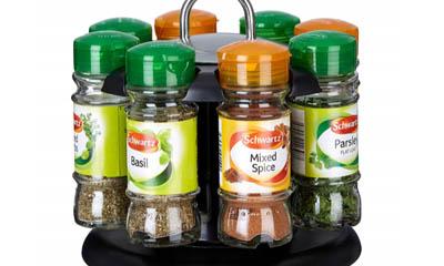 Free Schwartz Spice Racks & Spices