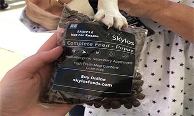 Free Skylos Dog Food Pack